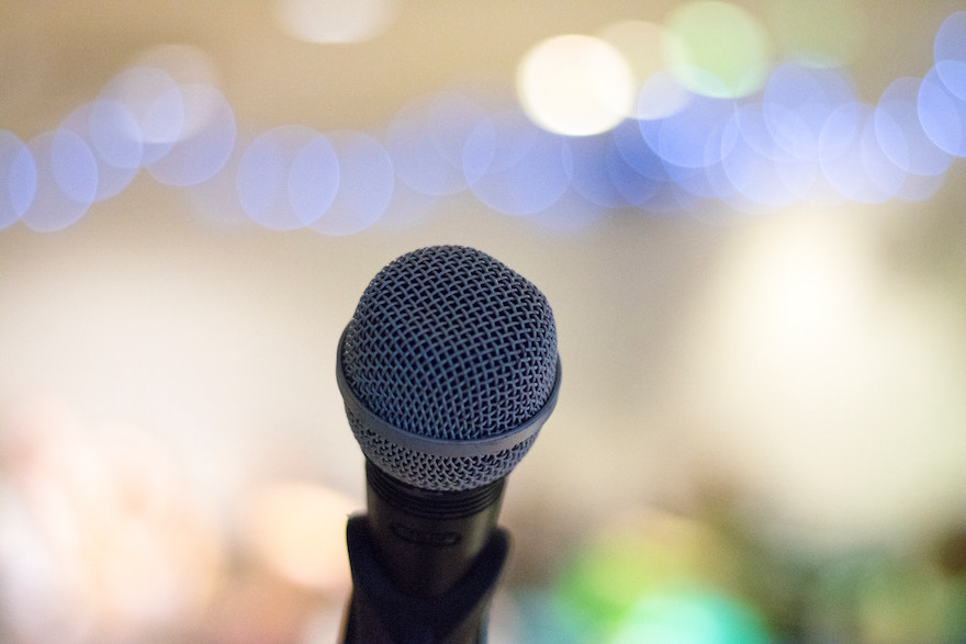 ready to get on stage and speak to your live event audience