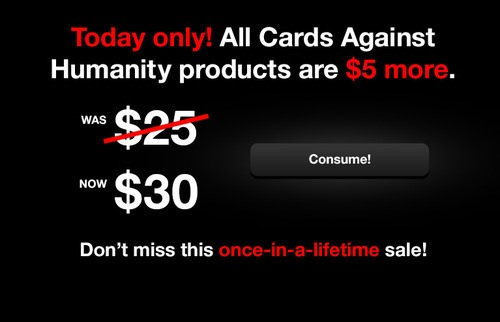 How to play Black Friday the Cards against Humanity way!