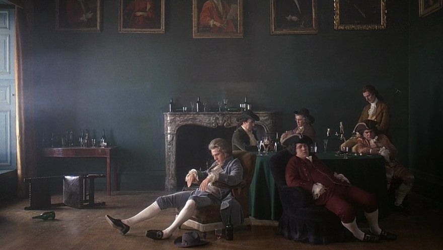 Barry Lyndon framed like a painting