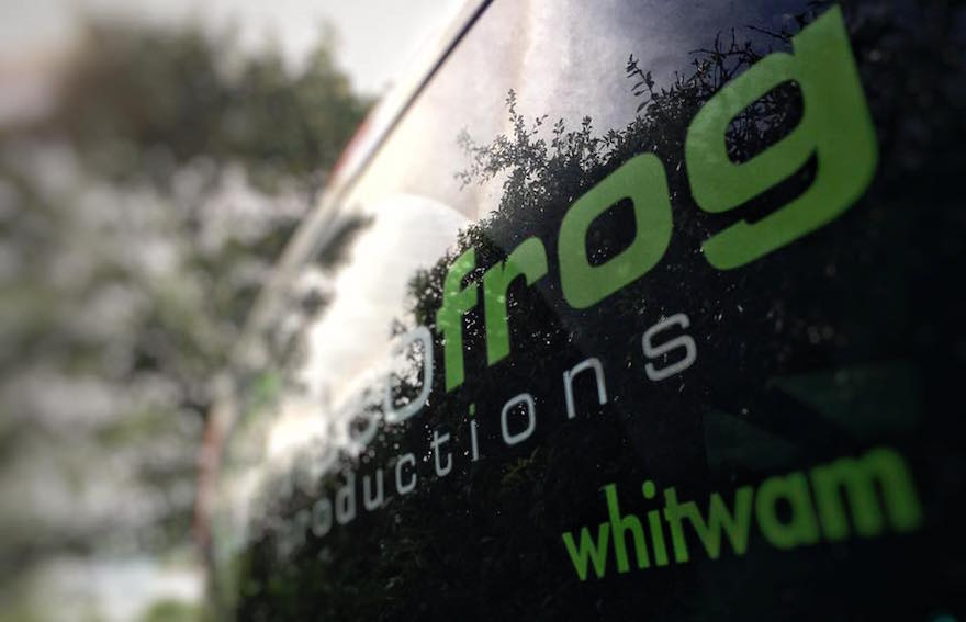 videofrog van ready to travel across UK and Europe
