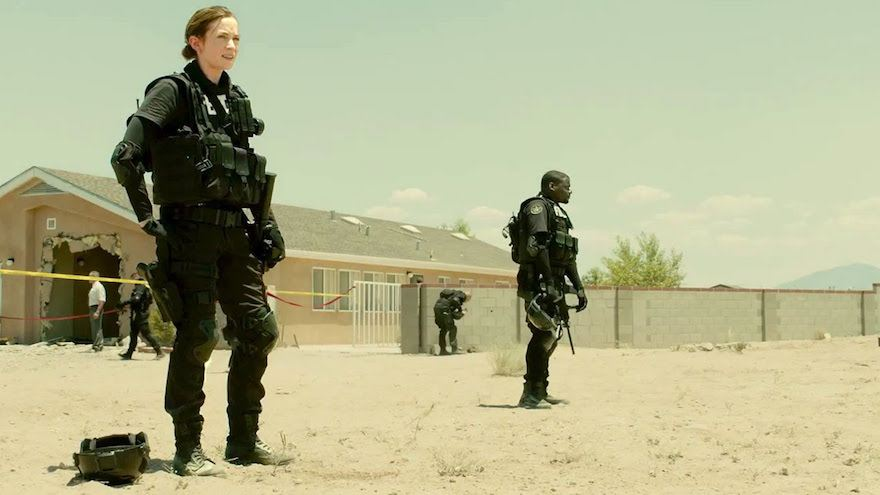 The heat radiates from the screen in Sicario