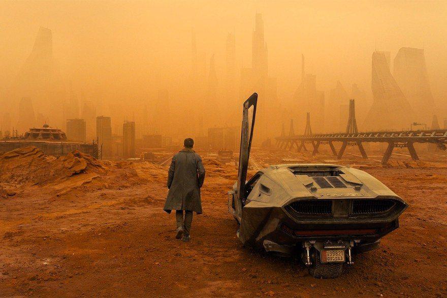 dust bowl of Las Vegas in Bladerunner 2049