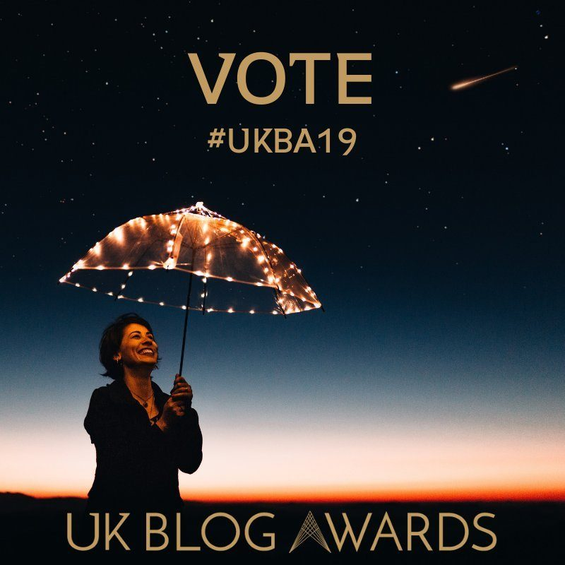 vote for videofrog at UK Blog Awards 2019